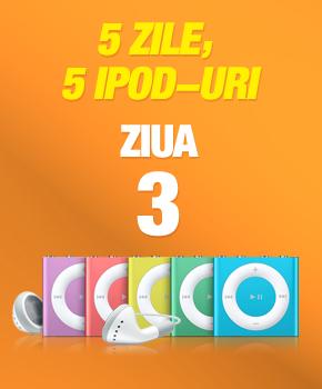 5 zile, 5 iPod-uri